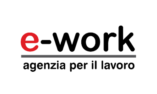 e work logo