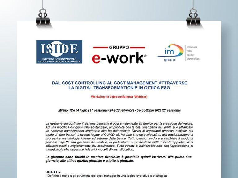 Webinar 12 14 luglio 2021 Cost Controlling